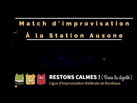 """Les """"Restons Calmes !"""" match d'impro, second round !"""