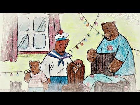 Бабушкины сказки -  Три Медведя | Мультфильмы для детей видео