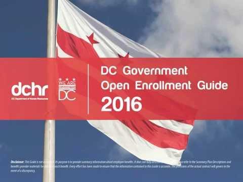 Open Enrollment 2016 Overview Webinar