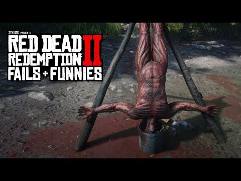 Red Dead Redemption 2 - Fails & Funnies #65