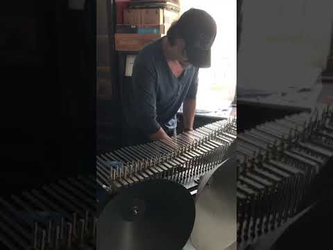 Cristal Baschet - a rare instrument that amplifies resonating glass