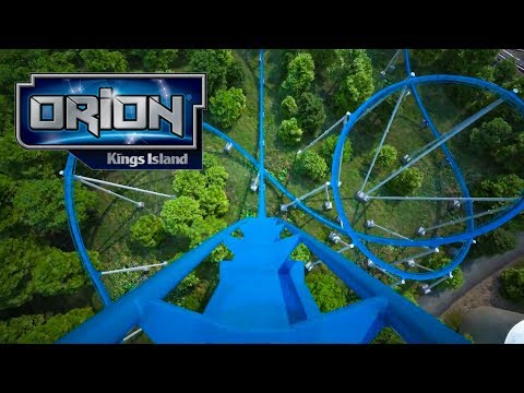 Orion Roller Coaster Front Seat POV Kings Island 2020 Giga Coaster
