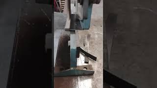 sheet metal shear cutting 16-ga sheet