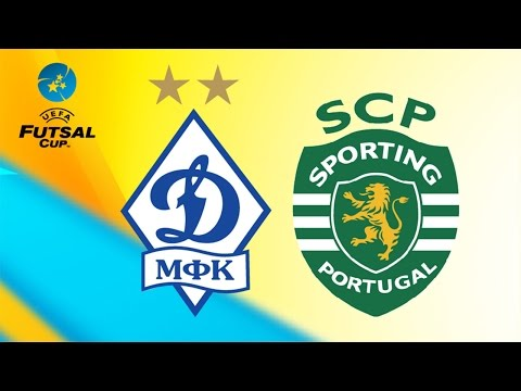 DYNAMO vs SPORTING. UEFA Futsal Cup.Elite Round. 27/11/2016 видео
