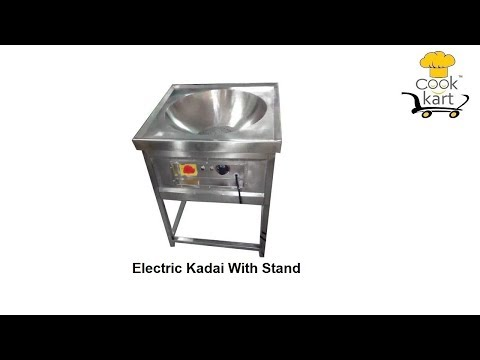 20ltr Electric Kadai With Stand