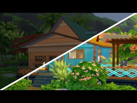 COLORFUL ISLAND HOME  // The Sims 4: Fixer Upper - Home Renovation