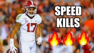 Alabama WR Jaylen Waddle Highlights 🔥🔥🔥 ᴴᴰ