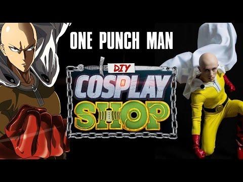 [一拳超人]  DIY Cosplay(裝扮過程請直接快轉至5.00)