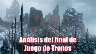 """Análisis del sexto episodio de la última temporada de Juego de Tronos: """"El Trono de Hierro"""" -Final-"""