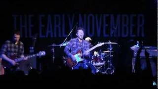 The Early November - Decoration (LIVE HD)