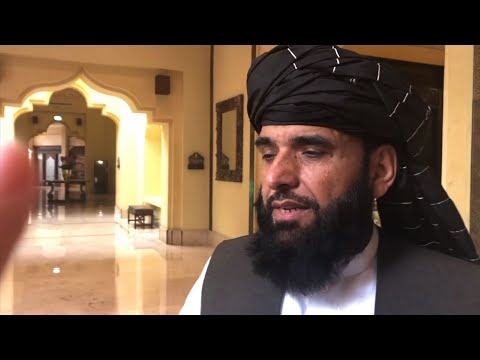 Taliban spokesperson Suhail Shaheen said in Doha on Tuesday that the withdrawal of foreign forces is a core issue in the talks aimed at ending the 17-year war in Afghanistan. (Feb. 26)