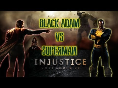 Injustice - Superman vs Black Adam