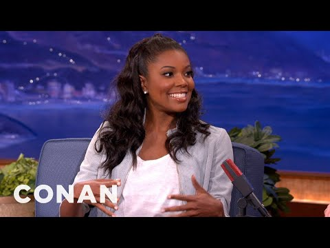 Gabrielle Union Has Been Banned From Sitting Courtside - CONAN on TBS