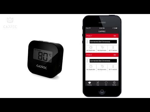 Cappec Bluetooth Meat Thermometer – PRODUCT REVIEW