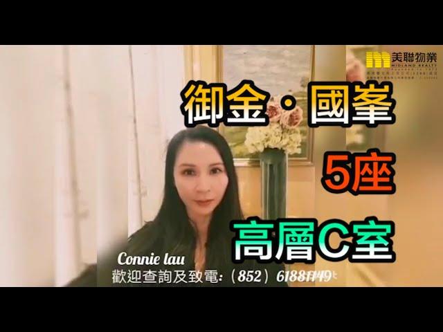 【#代理Connie推介】御金.國峯5座高層C室