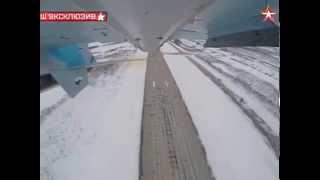 полет Су 33