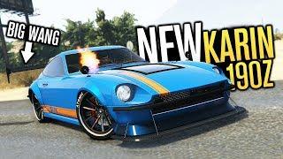 BIG WANG KARIN 190Z!!! | GTA V (Online)