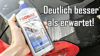Sonax Xtreme Brilliant Wax 1 || Günstiges Hybrid Polymer Wachs im Test