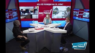 """Димитар Апасиев и Стојанче Ангелов во """"Само Вистина"""" 1.7.2020 1 дел"""