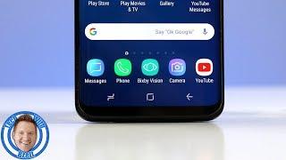 Galaxy S9 Home Button and Navigation Bar Hidden Tips