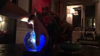 Sweden Crystal Design - Universe Globe Lamp