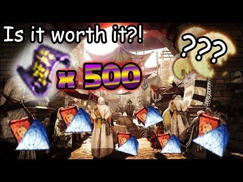 500 Scrolls IS IT WORTH IT?!   Black Desert Online