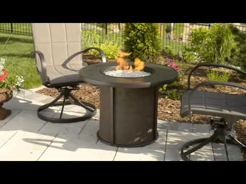 Stonefire Gas Fire Pit Table - The Outdoor GreatRoom Company