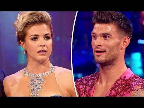 stirctly dancing 2017: Gemma Atkinson SCREAMS at Aljaz over injury confession 'I couldn't breathe'