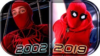 EVOLUTION Of SPIDER-MAN First Suits/Costumes In Movies Cartoons TV (1981-2019) All Spider-man Suits