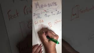 Math- Measurement Anchor Chart