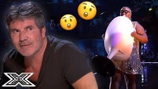 Act WON'T Leave and REFUSES To Give Up Seat | X Factor Global