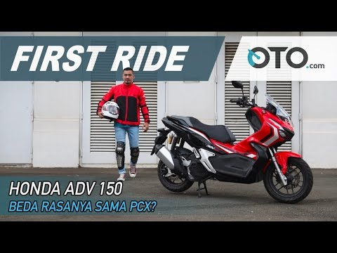 Honda ADV 150 | First Ride | Beda Rasanya Sama PCX? | OTO.Com