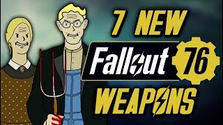 7 New Weapons in Fallout 76 That Have Never Appeared in Fallout