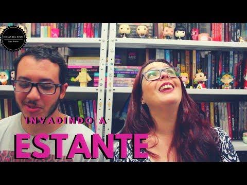 Invadindo a Estante da Sissi Feat.: Vitor | Vitus Livrus | Dicas da Sissi