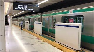 りんかい線にホームドア国際展示場駅ホームドア設置開始