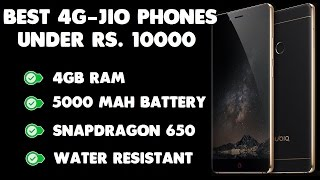 Best 4G VoLTE Jio Phones Under Rs 10000 Reliable Brand Wise