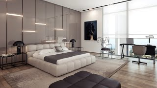 Luxurious Spacious And Stylish Bedroom Designs | Modern Bedroom Interior Designs