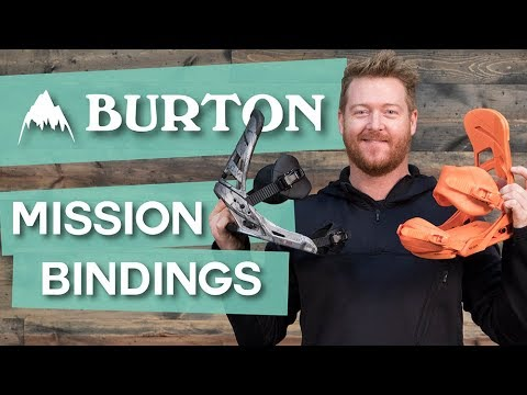 2018 Burton Mission Snowboard Bindings – Review – TheHouse.com