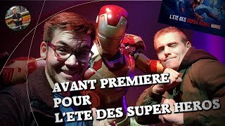 [VLOG] Avant première L'été des Super Héros Marvel, Disneyland Paris - YOYO