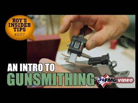 An Intro To Gunsmithing