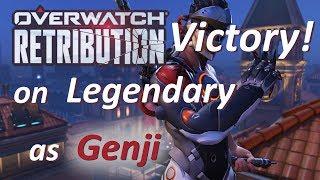 Overwatch - Legendary Victory in Retribution as Genji