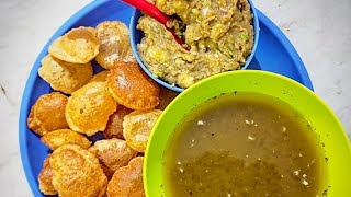 Panipuri Chaat Street Food Love - India