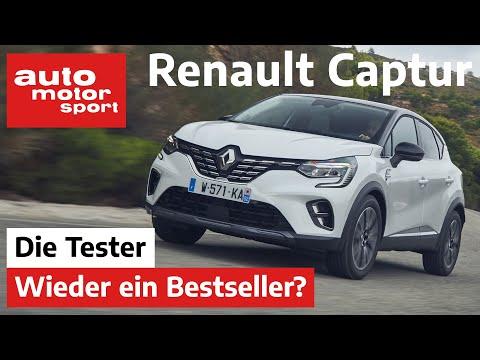 Renault Captur (2021): Ist auch die 2. Generation Bestseller-tauglich? Test/Review  auto motor sport