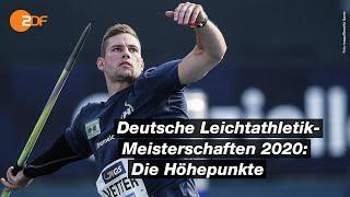 In der Hitze von Braunschweig – Die Highlights der Leichtathletik-DM 2020 | ZDF