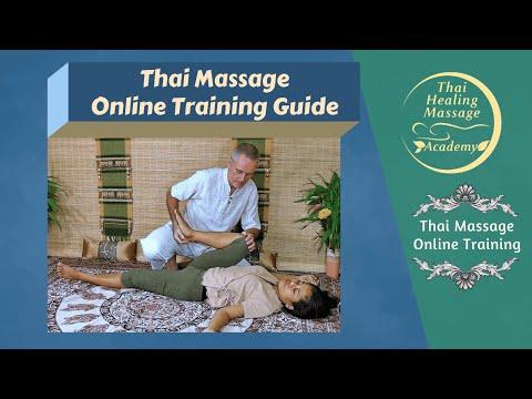 Thai Massage Online Training Guide - YouTube