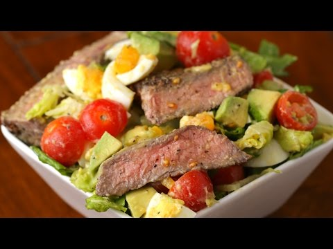 Steak & Avocado Salad