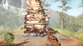 FAR CRY PRIMAL (Beast Master) Tensay Teaches Takkar To Tame The White Wolf HD