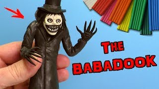 THE BABADOOK SCULPT FROM CLAY TUTORIAL