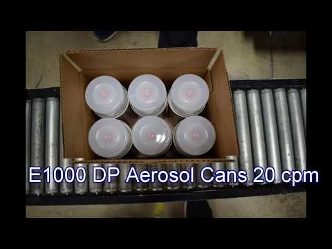 E1000 DP Drop Packing Aerosol Cans 20 cpm