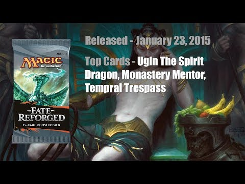 THROWBACK BOOSTER PACK THURSDAY - Fate Reforged